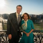 is gavin newsom related to nancy pelosi